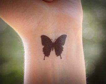 Temporary Tattoo - Butterfly - Butterfly Tattoo