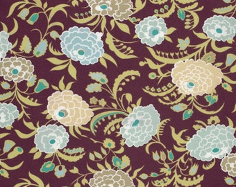 11218 - Amy Butler Gypsy Caravan collection PWAB082 Gypsy mum in wine color  - 1 yard