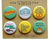 Seinfeld, Seinfeld magnets, Seinfeld deluxe magnet set, Seinfeld quotes