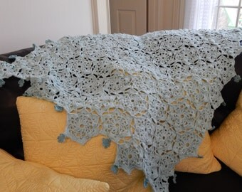 Made to Order Crocheted  Baby Afghan