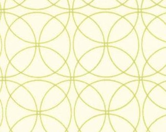 SALE - Comma - Swinging Natural Lime Green by Zen Chic from Moda