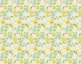 SALE - Clementine - In The Orchard Ivory Cotton Print Fabric from Blend Fabrics