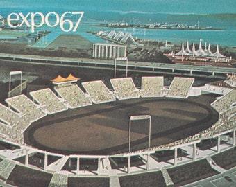 Expo 67 - Auto Stade -Montreal, Canada - Vintage Postcard  - Unused (S)