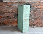 Large Industrial Cabinet With Many Drawers