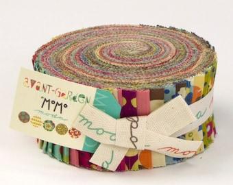Avant Garden jelly roll by Momo for Moda fabric
