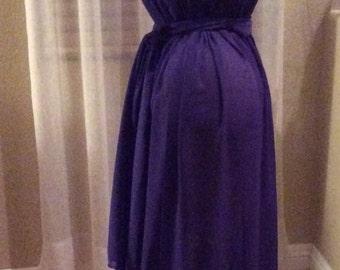 Versatile Chiffon Maternity Photo Shoot Dress