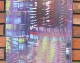Canvas Art Abstract, Canvas Wall Art, Abstract Acrylic, Colorful Abstract, Canvas Abstract, Canvas Abstract Art, 16x20 Abstract