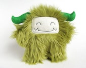 Stuffed Monster Gordon - Olive green