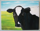 "11x14"" original cow painting"