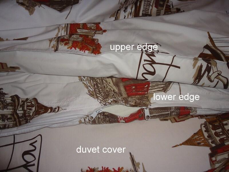 Literie de coton ensemble coton couette housse de drap plat for Housse de couette traduction