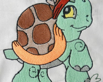 Turtle Quilt for 6x6 hoops Machine Embroidery Designs zip file PES VP3,JEF format. 20 Designs