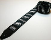 Pro football team handmade double padded guitar strap - This is NOT a licensed product