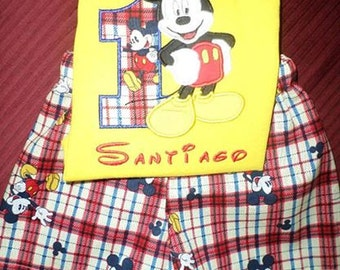Mr. Mouse short set