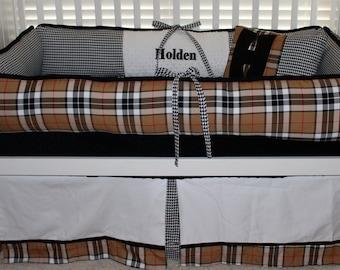 Holden Custom Baby Bedding Crib Set 6 pc set