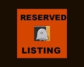 Reserved for JANSBEADS