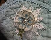 OOAK Snowflake Christmas Flower Ornament