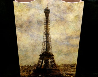 Wastebasket - View Over Paris