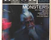 Vintage Look Magazine September 8, 1964 Monsters Cover With Boris Karloff