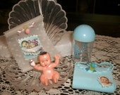 Baby Boy Shower Cake Toppers