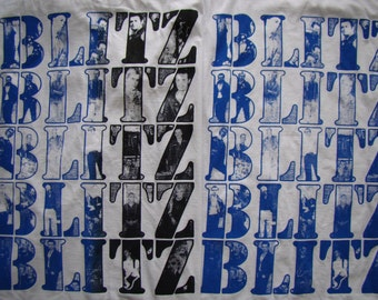 Blitz punk band shirt by addicted to chaos Oi! mens size S - XL pick your colors