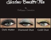 Eyeshadow Booster Trio Collection - 3g Jars with Sifters