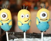 Despicable Me Cake Pops