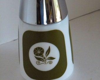 Vintage 50's Dripcut Starline Milk Glass Sugar Dispenser Retro Mid Century