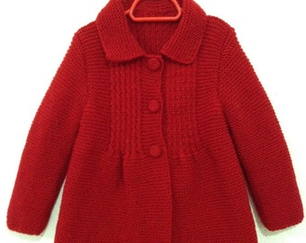Little Princess Coat - For 4 to 5 Year Old Girls - Ready for Shipping - Worldwide Shipping