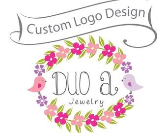 Custom Business Brand - Logo Design - Unique business logo and watermark - ooak design -boutique logo, photographer logo