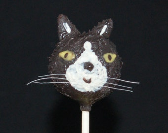 CAT CAKE POPS, Cake Pops, Birthday Favors, Party Favors
