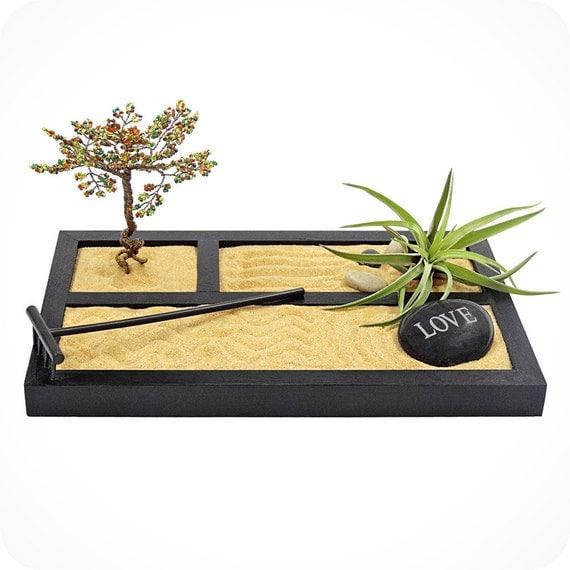 Zen Stone Garden Zen Garden Air Plant By Luludilivingframes