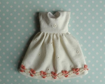 SALE % Ivory Eyelet Simple Blythe Dress | Pullip Dress