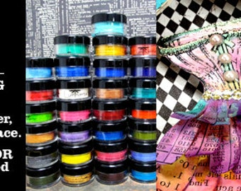 ColourArte/LuminArte Twinkling H2O'S Shimmering Watercolors  A thru S Large 10gm Size  SALE updated 6/21/2017