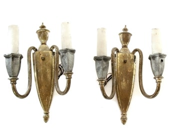 French torch style sconces