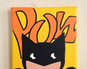 5in x 5in Batman Painting