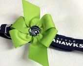 Seattle Seahawks Dog Collar Medium