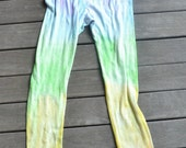 pastel rainbow tights (upcycled)