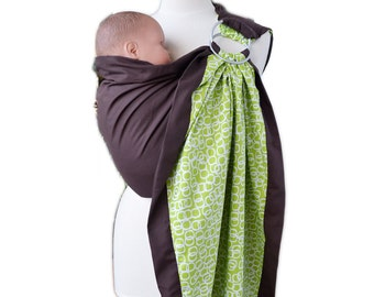 Baby Ring Sling Baby Carrier 2 Cotton Layers Green Baby Love Fast FREE Shipping