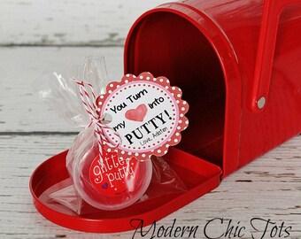 Valentine's Day Putty Printable
