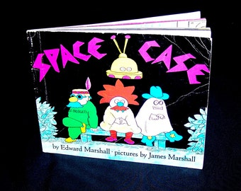 Vintage James Marshall Book - Space Case - 1980