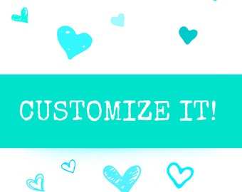 Customize Your cake topper