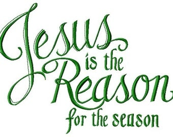 Clip Art Jesus Is The Reason For The Season Clip Art jesus reason season etsy is the for embroidery design instant download