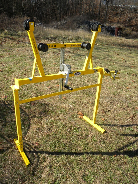 Great Shape Clean Vintage Apple Archery Bow Press And By