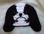 japanese chin dog crochet hat