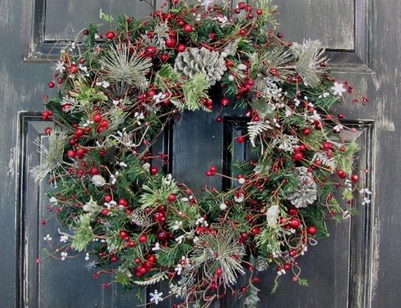 Winter Wreaths Christmas Wreath Sale Primitive Christmas