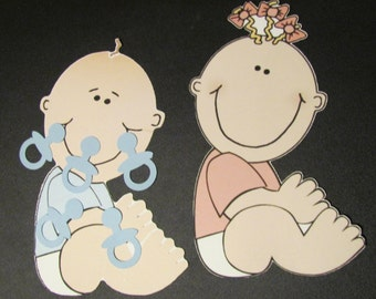 Pin the Pacifier on Baby Game with 20 pacifiers Baby Shower