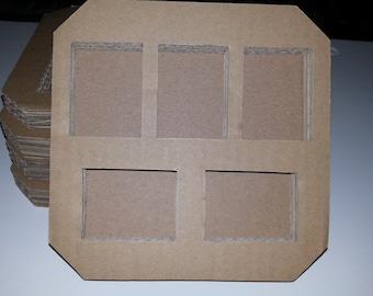 Cardboard Frames for Kid Crafts