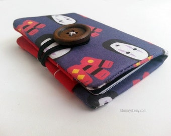 No Face Spirited Away Credit Card Holder (Made to Order)