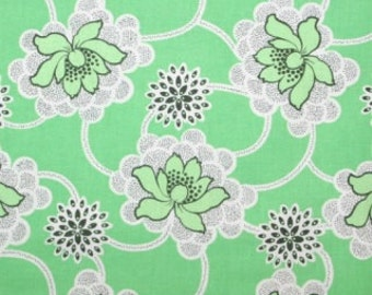 Amy Butler, Daisy Chain, Clematis in Green, 1 Fat Quarter