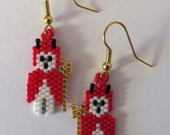 Little devil earrings